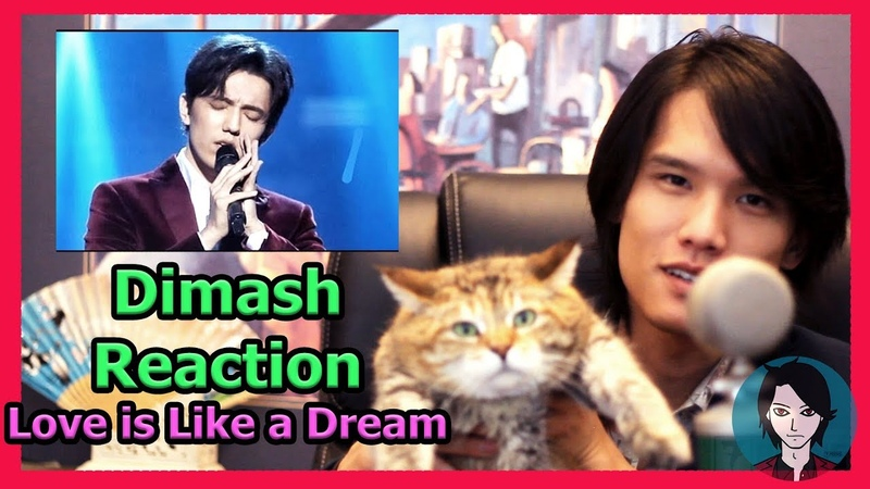 Dimash Reaction by 7 Aeons (Love is Like a Dream)