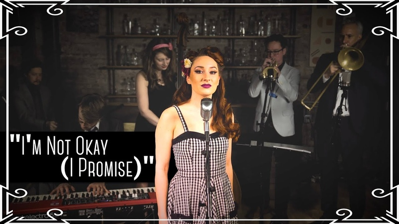 """I'm Not Okay (I Promise)"" (My Chemical Romance) 1960s Motown Cover by Robyn Adele Anderson"