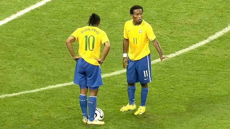 Vezes Que Ronaldinho Usou Magia Na Seleção
