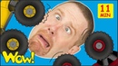 Toy Cars for Kids from Steve and Maggie MORE Stories and Lessons   Free Speaking Wow English TV