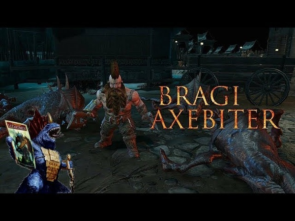 First Look at Bragi Axebitter in Chaosbane!