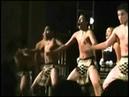 Maori Haka dance