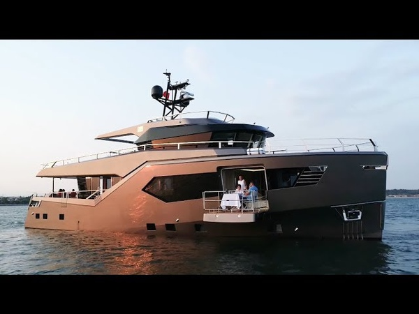 M/Y ROCK - S.U.V. Class 25m by Evadne Yachts, ext.int.arch.Vripack, eng.Tufan and Brothers 2018