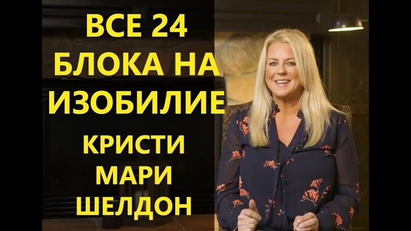 🍑 Исцеление от 24 блоков на Изобилие в Подсознании. Кристи Мари Шелдон