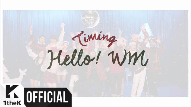 B1A4, OH MY GIRL, ONF _ Timing (타이밍) ГруппаЮжнаяКорея