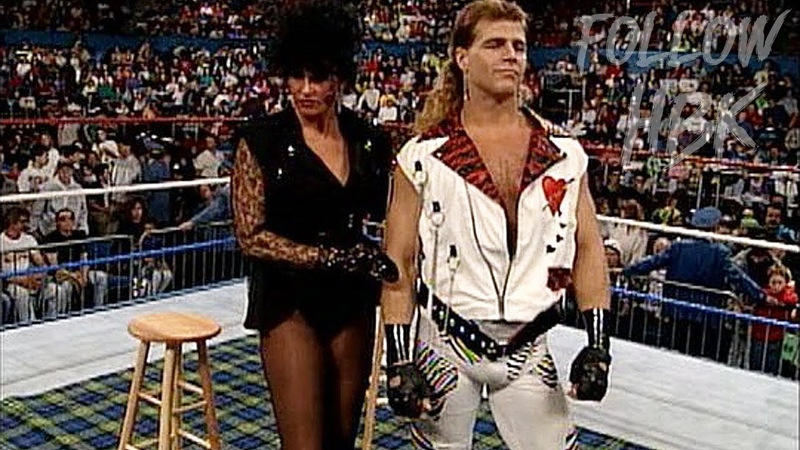 Never Before Seen Piper's Pit with Shawn Michaels Sensational Sherri (April 29, 1992)