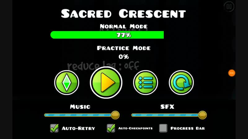 Geometry Dash - Sacred Crescent by pineapple (All coins)