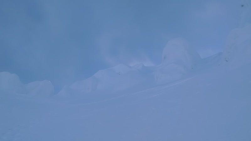 Холодный кулуар Чатырдаг