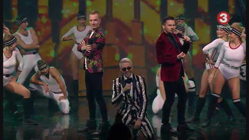 Intars Busulis un Reinis Sējāns feat. Markus Riva – Es tev šodien teikšu jā (16.12.2018.)