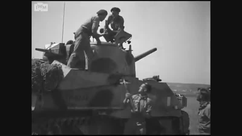 44 Королевский танковый полк в Сицилии 1943