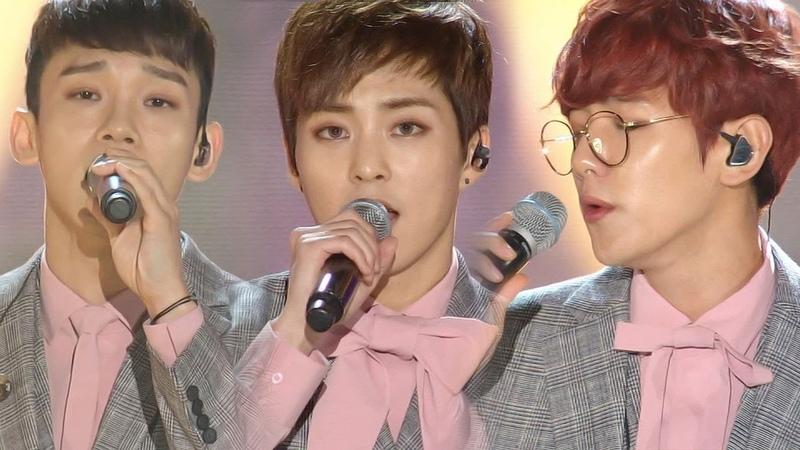 《BOF》 EXO-CBX(첸백시) - For You (너를 위해) (보보경심려 OST) @인기가요 Inkigayo 20161030