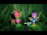 Обзор на фигурки Энчантималс Стрекоза Dara Dragonfly и Улиточка Saxon Snail