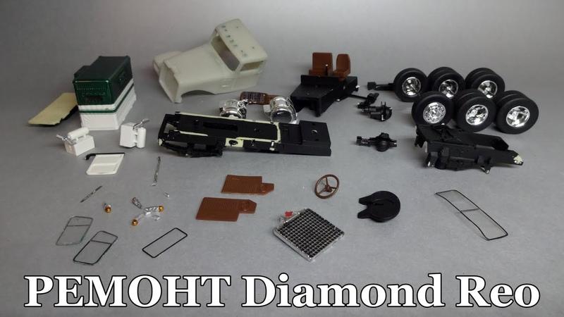 Ремонт Diamond Reo 1:43   NEO Scale Models   Полная разборка и снятие краски