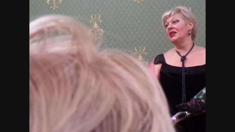 Дж Керн Дым Поёт Юлия Хазанова