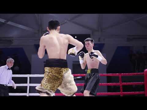 Kasenov Elnur (Almaty) vs Medet Aidos (Aqtobe) 4 round (56kg) [TUKESHOV BOXING PROMOTION]