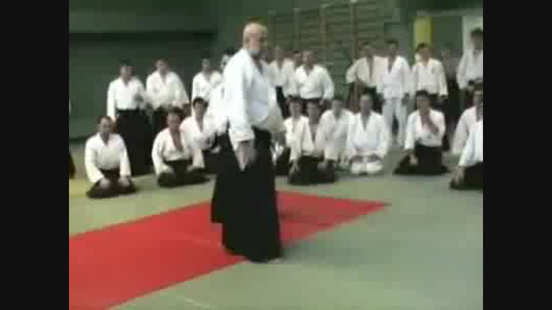 Ulf Evenas Aikido Centras - Shihan Ulf Evenås 7 Dan in Moscow, october 2003