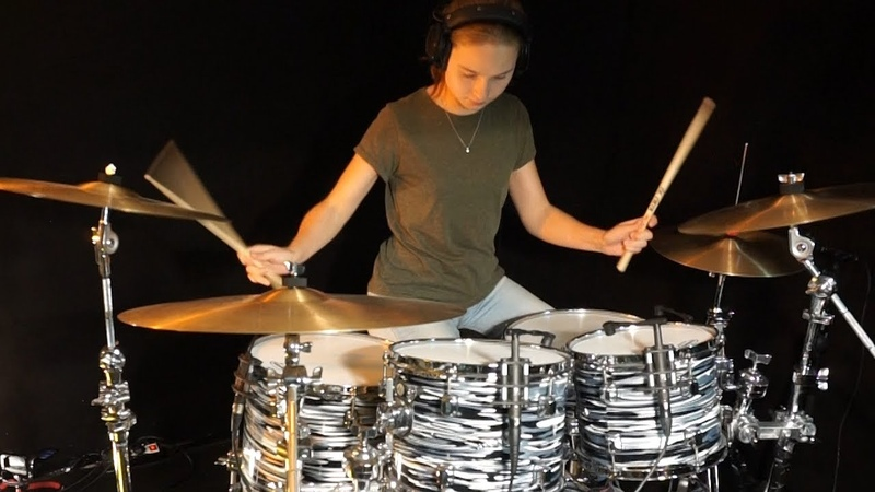 Child's Anthem (Toto); drum cover by Sina