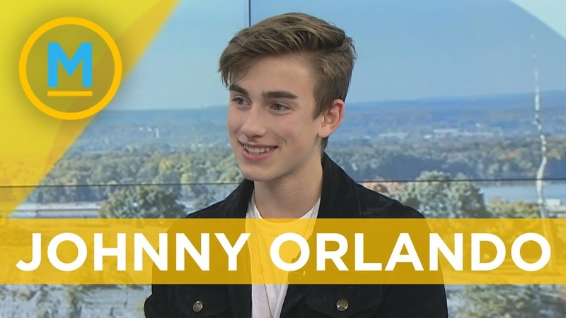 We made Johnny Orlando watch his first-ever YouTube video | Your Morning