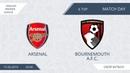 Arsenal 7:2 Bournemouth A.F.C., 6 тур (Англия)