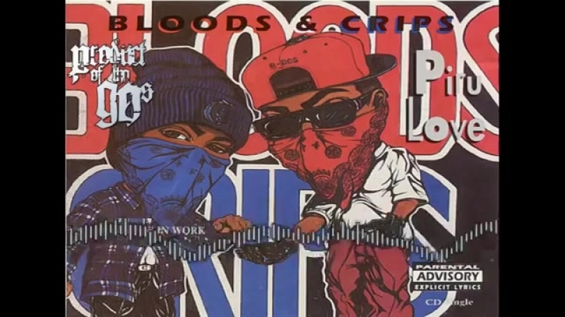 Bloods Crips - Rip A Crab In Half Instrumental Remix [ Product Of Tha 90s ].mp4