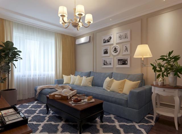 Красивая гостиная 16 кв.