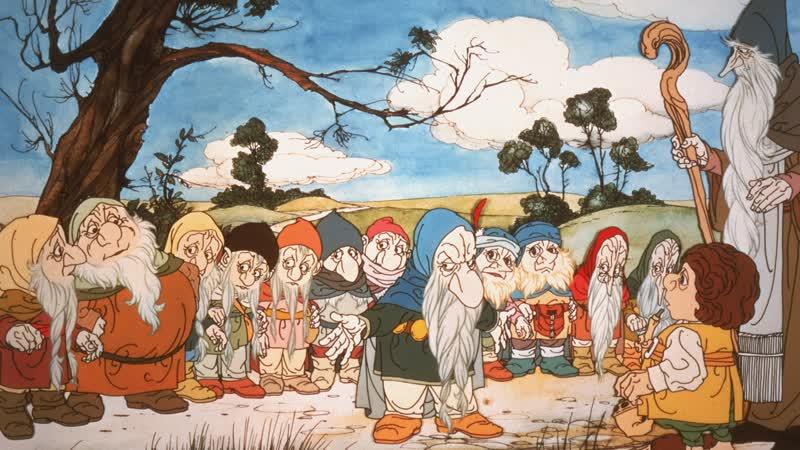 Хоббит The Hobbit. 1977. 720p. Перевод Александр Кашкин (Первомайский). VHS