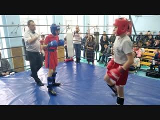 Юрко Владислав - Бондаренко Никита раздел кик лайт в.к 47 кг