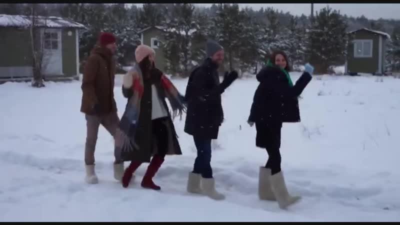 Бэкстейдж со съёмки зимнего лукбука Ennergiia
