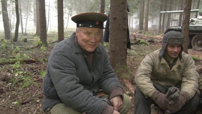 В Можайском районе снимают военно историческую драму Танкисты