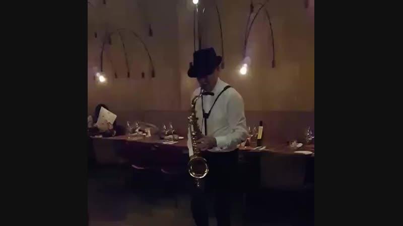 саксофонист вашей мечты)