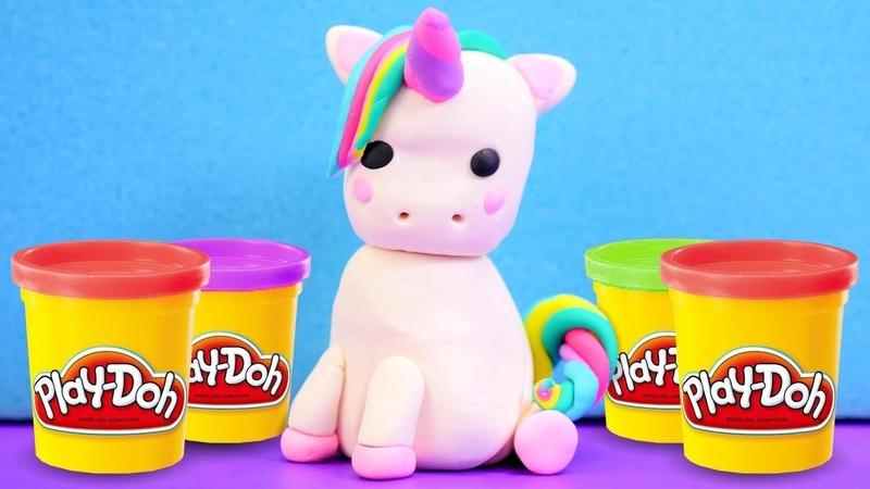 Çocuk videoları. Play-Doh hamur oyunları. Oyun hamuru ile unicorn