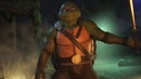 Injustice 2 TMNT Gameplay Michelangelo vs Leonardo