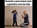 Quando o pai ensina mais a Genética vem da mãe