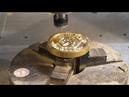 Darbnica woodwork - краткий цикл изготовления горячего штампа