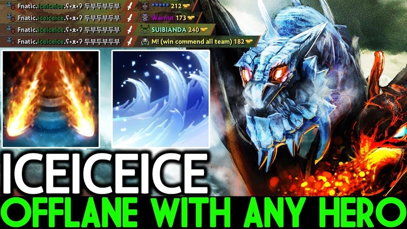 Iceiceice [Jakiro] Pro Can Offlane with Any Hero 7.20 Dota 2