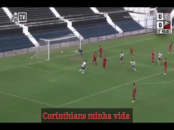 Gugu Manman faz dois golaços no campeonato Paulista sub 17 (2018)