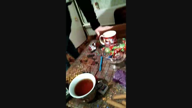 пьём чай