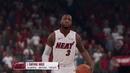NBA Live 19 Houston Rockets vs Miami Heat PS4 Gameplay