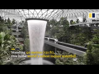 Inside singapores jewel changi airport