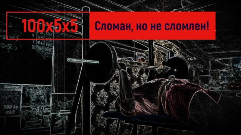 Жим / BenchPress (80*12*5) 4