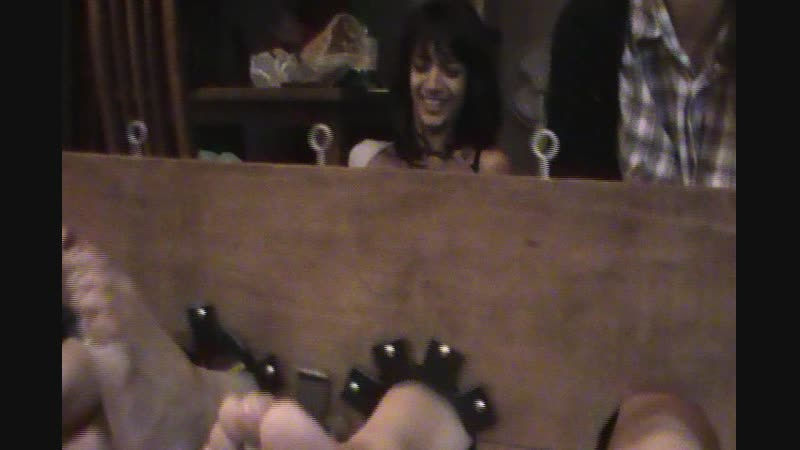 Maria and Anna foot tickled part 3