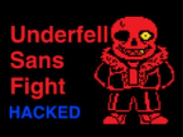 (Русская озвучка) [SCRATCH] Fell Sans Fight (with infinite HP) {RUS DUB}
