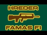 Weapon animation. Famas F1.
