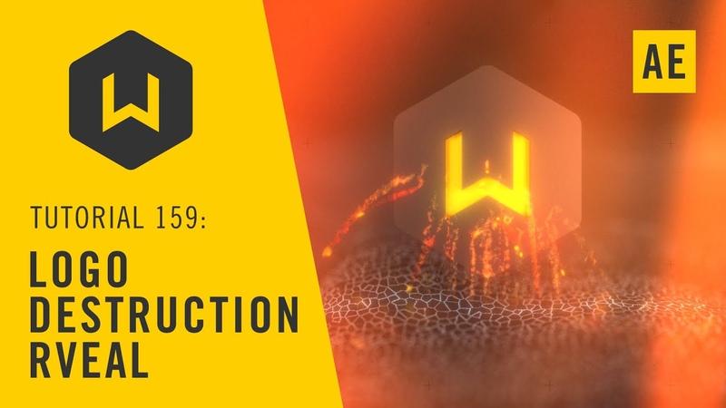 Using Voronoi fracturing to Reveal a Logo in Cinema 4D - Tutorial 159: Logo Destruction