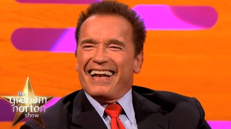 Arnold Schwarzenegger Talks About His Famous Predator Terminator Lines | The Graham Norton Show
