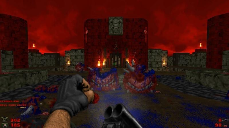 Whispers of Satan Level 26 Hellhole Brutal Doom Black Edition v3 1d Final
