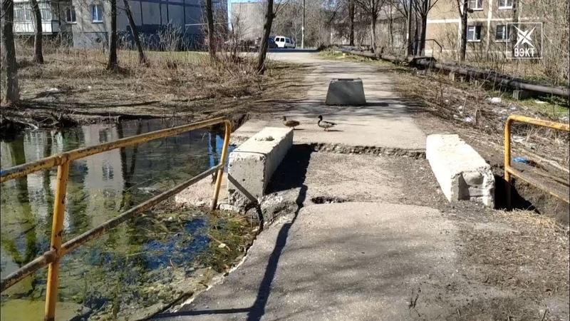 Утекааай. Подвалы домов в микрорайоне Фетровая фабрика затопил взбесившийся ручей