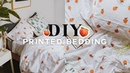 DIY Pattern Duvet Cover 🍑 Super Easy Affordable (UPCYCLE) 2018 Lone Fox