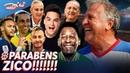 ZICO 66 anos Pelé Marta Neymar e outros craques emocionam o Galinho Canal Zico 10