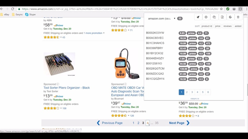 Create Listings with Easync Chrome Tool Very Simple Steps